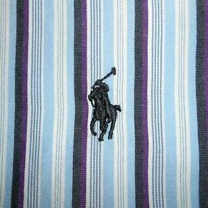 17 1/2 - 34/35 Polo Ralph Lauren CUSTOM FIT Dress Shirt 100% Cotton Mens PRL