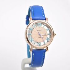 """Casio Sheen Bright """"Vitamin Color"""" Leather Strap Ladies Watch SHE-4047PGL-2A"""