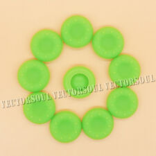 UK 10X Green Thumb Grips Cover Caps for PS4 PS3 XBOX ONE 360 Analog Controller