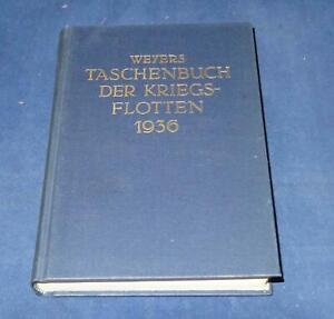 Reprint Weyers Taschenbuch der Kriegsflotten 1936