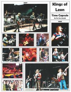 "It's About Rock And Roll: ""Kings of Leon"" Broadside by Tim Van Schmidt"