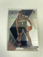 ZION WILLIAMSON 2019-20 Panini Prizm MOSAIC Base Rookie Card RC #209 Pelicans