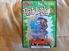 Racing Champions Rat Fink Chevy Man Corvette Split Window Orange Moc