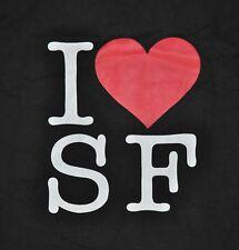 T-SHIRT M MEDIUM I LOVE SF SAN FRANCISCO HEART SHIRT