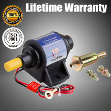 New Micro Electronic Fuel Pump 3/8 inch Inlet Outlet 35 GPH 4-7 PSI Gas Pump V8