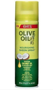 ORS Olive Oil Nourishing Sheen Spray with Coconut Oil 481ml