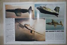 Dornier Do 335 --Messerschmitt Me 262 -- Heinkel He162  - Poster-Plakat - Farbe-