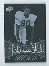 Donnie Shell Steelers 2014 National Treasures UD Black Signatures Auto 50/60