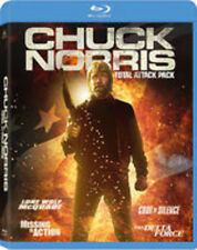 Chuck Norris Total Attack Pack - 4 DISC SET (2014, Blu-ray NEW)