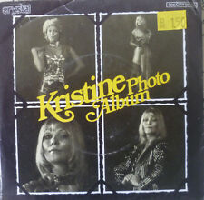 "7""  1977 RARE GERMAN PRESS MINT-!  KRISTINE Photo Album"