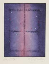 Tighe O'Donoghue, Untitled - Earthworm Abstract I, Etching with Aquatint, signed