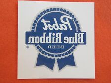Beer Temporary Tattoo Sticker ~ Pabst Blue Ribbon Brewery ~ Milwaukee Since 1844
