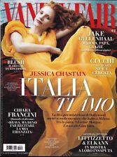Vanity Fair magazine Jessica Chastain Jake Gyllenhaal Chiara Francini Fashion