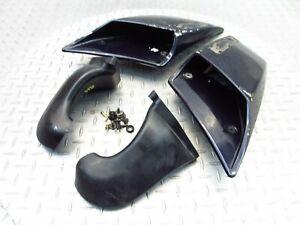 1990 88-90 Yamaha FJ1200 Left Right Intake Scoop Ram Air Fairing Cowl Trim Panel