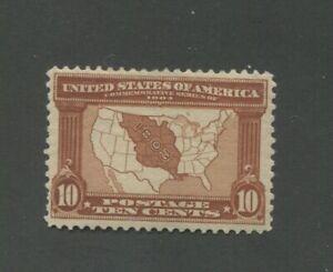 United States Postage Stamp #327 Mint Lightly Hinged OG