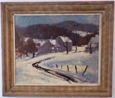 """Rockport Massachusetts/Connecticut """" Winter Evening """" Harry Ballinger"""