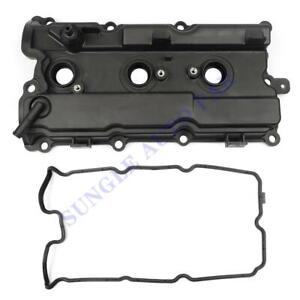 Left&Right Valve Cover With Gasket For I35 02-09 Altima Murano Maxima Quest 3.5L