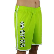 Errea short Football Essential Ss19 Graphic Fluorescent Green Print