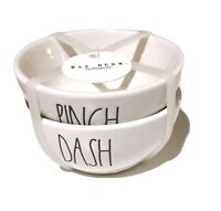Rae Dunn By Magenta PINCH & DASH SEASONING BOWLS, NEW