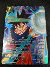DRAGONBALL SUPER CARD GAME ULTRA INSTINCT - SIGN - SON GOKU MINT BT3-033 SR