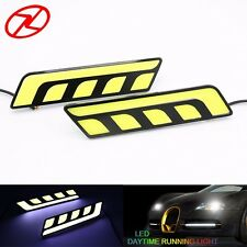 2PCS Cars Daytime Running Light Waterproof DRL White Color LED Driving Day Light