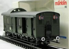 Märklin 4316, HO, Gepäckwagen, LED-Schlussleuchten, RTS-Kuppl., Patent-Schleifer