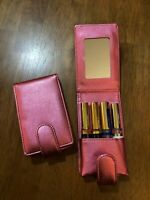 Pink Lipstick Case w/ Mirror, QTY 1 -- (Fits 4 LipSense - SOLD SEPARATELY)