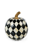 MacKenzie-Childs Courtly Harlequin Pumpkin - Small