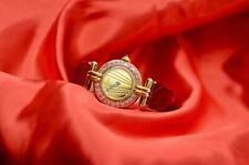 Ladies Vintage Must de Cartier Watch VERMEIL Argent & Pink Sapphire