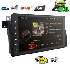 "2+16GB 9"" Autoradio Android 9.0 BMW 3er E46 318 M3 Rover 75 MG ZT GPS Navi DAB"