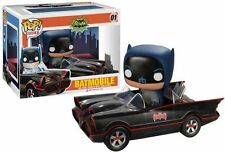 Funko POP Ride DC Super Heroes Batman Classic TV Series 1966 Batmobile Adam West