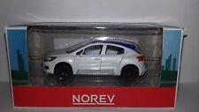 Norev 3 inch model DS4 wit met blauw dakje nieuw in Norev showroom doosje