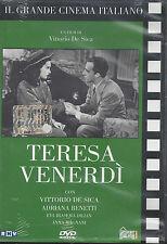 Dvd **TERESA VENERDI'** con Vittorio De Sica Anna Magnani nuovo 1941