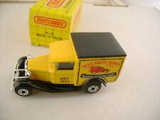 1990 MATCHBOX SUPERFAST SERIES #38 MODEL A FORD VAN NEW IN BOX