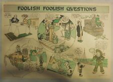 Foolish Foolish Questions from 1905 Half Page Size!