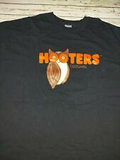 """""""Hooters"""" Black T-shirt Cozumel Hooters Makes You Happy 2XL"""