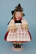 "New Listing9"" Antique Kammer Reinhardt 114 KstarR Gretchen Tiny Head Repaired Great Costume"