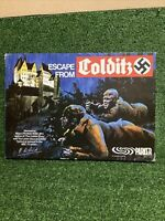"Vintage ""Escape from Colditz"" Family Board Game WW2 Parker - 100% Complete VGC"