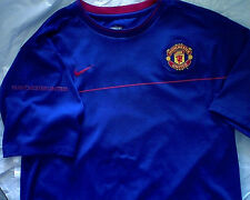 Nike Fit Dry Manchester United Jersey Blue L m soccer mufc