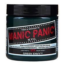 Manic Panic Classic Hair Dye Color Green Envy Vegan 118ml Manic-Panic