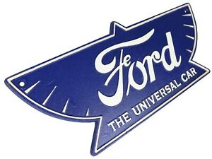 Ford The Universal Car Logo - Cast Iron Sign Plaque