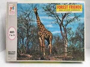 Vtg 1971 Milton Bradley Forest Friends & Other Animals GIRAFFE Jigsaw Puzzle NEW