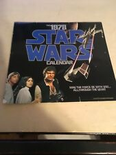 Star Wars calendar 1978