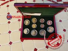 Coffret BE 1 Cent à 2 Euro + 2x2Euro CC Luxembourg 2020 - Coffret Proof