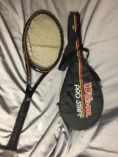 Wilson Pro Staff MidSize L4 4 1/2 PWS Graphite Made with Kevlar Tennis Racquet