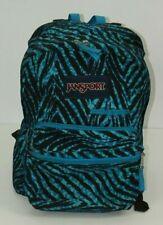 JanSport Backpack Blue Zebra School Backpack Bag