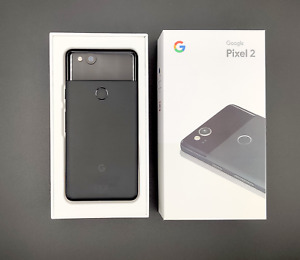 Google Pixel 2 64GB Factory Unlocked T-Mobile AT&T Verizon Cricket with OG BOX