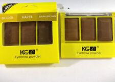 12 X krazygirl Cejas Polvo hazel/blond/brown al por mayor de los cosméticos joblot