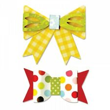 Make Your Own Bows Sizzix Bigz Die 658541 NEW!