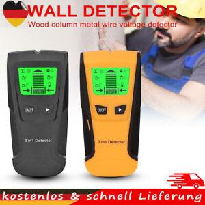3in1 Stud Finder Metalldetektor Leitungssucher Kabelfinder Metall WandScanner